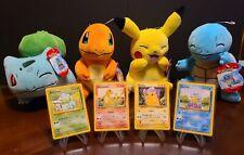 1999 Pokémon Tcg Base Set & Plush Bundle