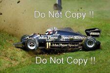 Elio De Angelis JPS Lotus 94T Austrian Grand Prix 1983 Photograph