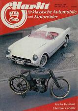 0122OM Oldtimer Markt 1984 6/84 Ludewig Bus Krupp Aero R 25/3 Chevrolet Corvette