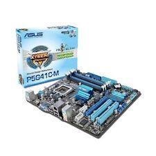 Mainboard Sockel 775 Asus P5G41C-M DDR2/DDR3 MicroATX Gebraucht Top Zustand