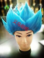 DragonBall Z Super Saiyan Vegeta Son Goku Hair Cosplay Costume Wig Yellow/Blue