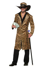 Funky Leopard Big Daddy Pimp Adult Costume