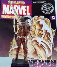 Classic Marvel Figurine Collection Kraven Issue 23 Eaglemoss RARE VENTE!!!