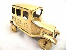 ANTIQUE LOOK NAUTICAL BRASS VINTAGE CAR DECORATIVE COLLECTIBLE TOY