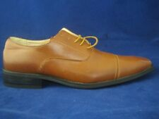 TOUCHE ITALY Tan Leather NEW Classic Oxfords Shoes 9M