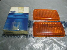 MK1 ESCORT MEXICO RS2000 TWIN CAM GENUINE FORD NOS FRONT FLASHER LENSES