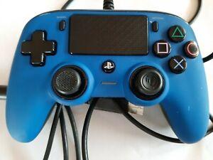 PLAYSTATION 4 CONTROL PAD NACON AZUL USADO FUNCIONANDO PERFECTAMENTE.