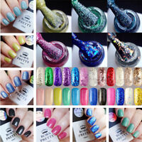 BORN PRETTY 10ml Nail UV Gel Polish Glitter Nail Art Soak-Off LED Vanish Polish