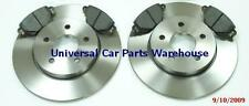 Ford Mondeo mk3 TDCi TDDi 01-07 Two Front brake discs and Brake Pads Set