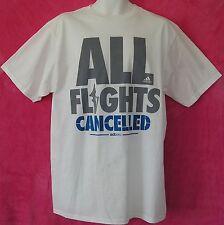 Adidas ADIZERO ALL FLIGHTS CANCELLED jersey-Tee Derrick Rose T Shirt gym~Men Lrg