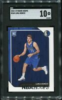 2018-19 Panini Hoops Basketball Card #268 Luka Doncic SGC GEM 10 Gorgeous Card