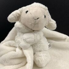 Jellycat Bashful Lollie Lamb Lovey Security Blanket Infant Nunu Baby plush Cream