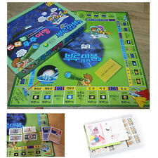 KOREA BOARD GAME Korea Bull Marvel game Korean Monopoly Board Game 부루마블 Space
