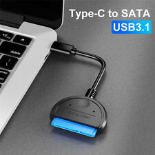Universal USB 3.1 Type-C to SATA Adapter Cable for 2.5'' SATA SSD HDD Hard Drive