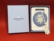 More details for vintage wedgwood jasperware hanging christmas tree decoration / ornament star