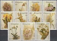 Guyana Orchids V 1986 MNH-28 Euro