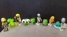 10 pcs Set  Figurine Plants vs Zombies PVC Action Figures Collectibles Toys USA