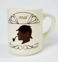 Coffee Mug Sherlock Holmes Java Beverage Cup Drinking Ceramic 11 oz Gift Ceramo