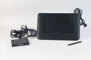 Wacom Dtz-1200w / G Interactif Affichage Graphique Tablette W/ Convertisseur