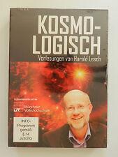 3 DVD Kosmo Logisch Vorlesungen von Harald Lesch Neu originalverpackt