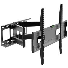 32-70 dual SWIVEL Tilt full motion LCD LED TV WALL MOUNT motion (80-023)