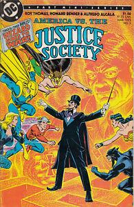 DC Comics America vs. The Justice Society No. 3 of 4, 1985 Fine