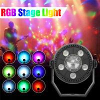 RGB LED  Rotating Ball Stage Light Xmas Disco DJ Party Club Crystal Effect Light