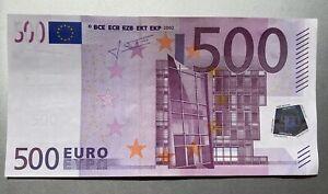Echter 500euro Geldschein N-Serie