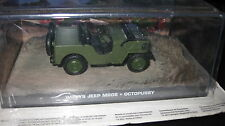 JAMES BOND 007 MOVIE CARS 1/43   WILLS JEEP M606  OCTOPUSSY