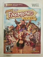 Party Pigs Farmyard Games - Nintendo Wii  TESTED COMPLETE FREE S/H