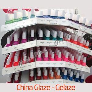 Geláze Gelaze by China Glaze 15mL Gel-n-Base In One Gel Polish @Pick ANY Color