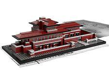 LEGO ARCHITECTURE KIT 21010 ROBIE HOUSE NUOVO MAI APERTO, COMPETO SCATOLA
