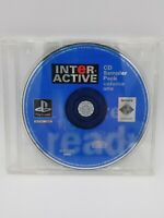Interactive CD Sampler Pack Volume One Vol 1 (Sony PlayStation, 1995) PS1 Tested