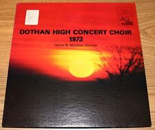 Dothan High School Concert Choir AL - Harvie B. McClure 1973 LP Alabama