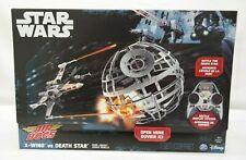 Air Hogs X-Wing vs Death Star NEW Disney Star Wars TY