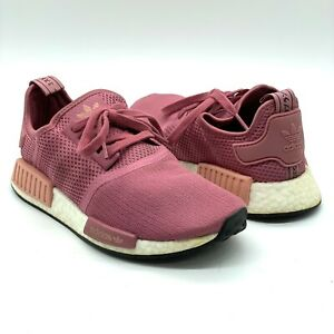 ADIDAS NMD-R1 BD8029 Running Shoes Trace Pink Womens 8