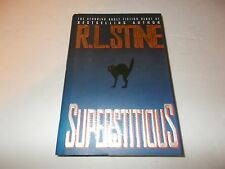 Superstitious by R. L. Stine (1995, Hardcover) used