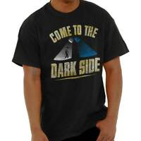 Come To Dark Side Space Wars Nerd Geek Evil Adult Short Sleeve Crewneck Tee