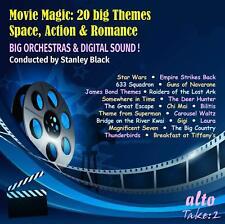 CD MOVIE MAGIC SPACE ACTION ROMANCE STAR WARS BIG COUNTRY JAMES BOND DEER HUNTER