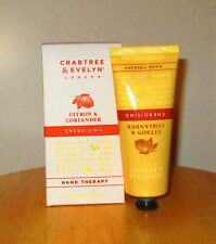 Crabtree & Evelyn-DISCONTINUED Citron & Coriander Hand Cream-3.45 oz
