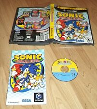 Sonic Mega Collection   Nintendo Gamecube ,Wii  Complete