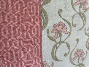 Urban Outfitters Rug Floral Art Nouveau Cottagecore 100% Cotton Green Pink