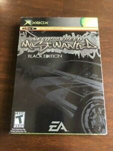 Need for Speed: Most Wanted Black Edition Xbox - Factory Sealed - New