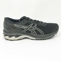 Asics Womens Gel Kayano 27 1012A713 Black Running Shoes Lace Up Size 7.5 Wide