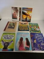 Lot of 8 Scholastic Books for Teens/Young Adults - Chapter Books All Complete