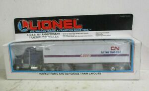 LIONEL 'O' 52048 L.O.T.S. 15TH ANNIVERSARY TRACTOR & TRAILER