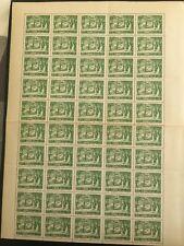 Lebanon 1960 MNH Stamp Cedar Tree Full Sheet 1/2 Piaster