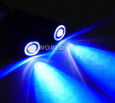 RC Racing Drone Quad LIGHT SYSTEM POWERFUL 10mm HALO LED  - BLUE - WHITE HALO