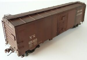 NS Norfolk Southern Boxcar Speedwitch Media Assembled Weathered HO K120.1