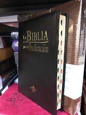 Biblia Para La Predicancion Piel Imitacion Negro Indice Reina valera 1960